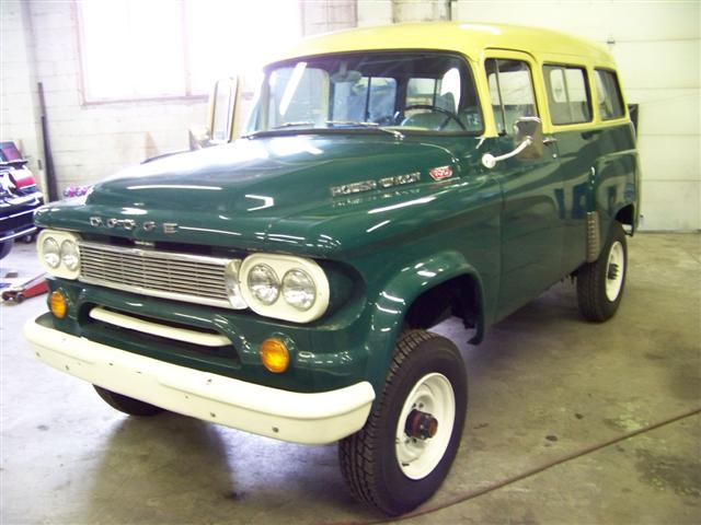 1960 Dodge Power Wagon Town Wagon