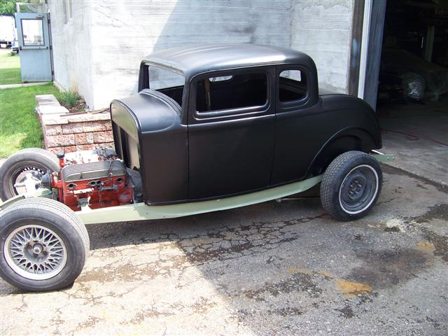 1932 ford coupe bent metal customs for 1932 ford floor pan